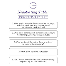 30 Fresh How To Negotiate A Job Offer Salary Letter Pictures Wbxo Us