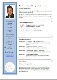 3 Formatos De Curriculum Vitae Letras Para Imprimir