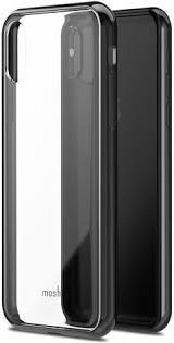 <b>Клип</b>-<b>кейс Moshi Vitros</b> для iPhone X black - отзывы покупателей ...