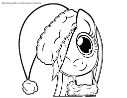 Free Printable Christmas Coloring Sheets For Toddlers My Little Pony