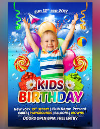 34 Birthday Flyer Templates Word Psd Ai Indesign Free