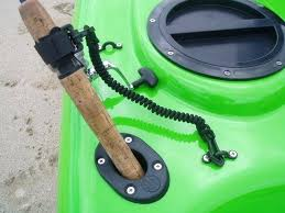 diy kayak fishing rod holder