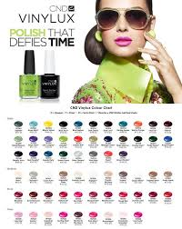 Cnd Colour Chart Cnd Vinylux Nail Polish Review Days 1 To 3