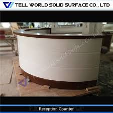 home tabletops reception whole news design commercial furniture half round reception desk