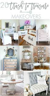 20 Trash to Treasure Makeovers Great furniture makeovers from thrift store finds