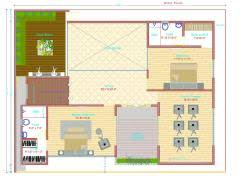house design 20 x 45. gf u0026 ff house plan 3037sq ft plot size 2409sqft 15 x 4o design 20 45