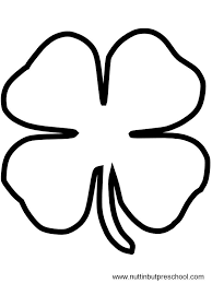 Small Picture Shamrock Coloring Pages diaetme