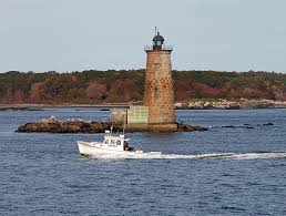 Whaleback Light Kittery Maine Whaleback Lighthouse Kittery Maine The Southernmost Ligh