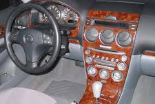 mazda 6 2004 interior. dash trim kit fits mazda 6 2003 2004 2005 03 04 05 wood carbon aluminum mazda interior r