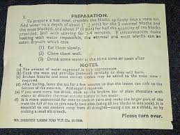 british hour ration box atlas repro paperwork 45 0472m 2l
