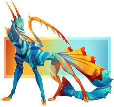 Goby Design Daniela Thonen Goby Mantis Creature Design