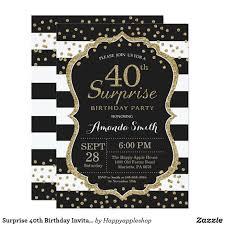 40th Birthday Invitations Free Templates Ideas Premium Design Of 40th Birthday Invitations
