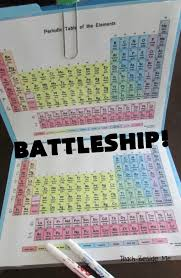 Periodic Table Battleship, A Scientific Twist on the Classic Game ...