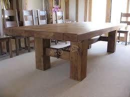 dining room table square marvelous dark regarding rustic tables designs 3
