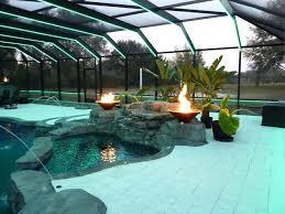 pool enclosure lighting diy pool cage lighting
