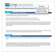 Le New England Journal Of Medicine Chuck Benbrook Et Les Conflits