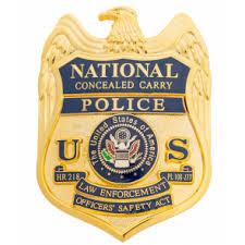 Hr218 218 Badge Badges National Concealed Hr