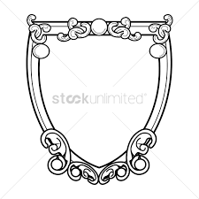 antique frame drawing. Antique Frame Vector Graphic Drawing Q