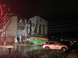 Continued damage of the tornado that hit fultondale right after the storm came through. Gj8jnbnkaxy6lm