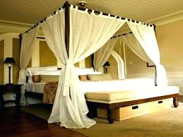 Canopy Bedroom Sets With Curtains Twin Canopy Curtains Canopy Bed ...