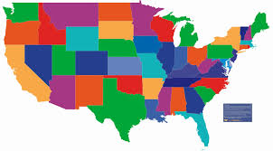 Editable Map Of Usa For Powerpoint Interactive Map Of Usa Powerpoint Franklintwpfire Org
