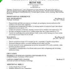 Pharmacy Tech Resume Template Prn Pharmacist Sample Resume Podarki Co
