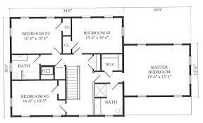 floor plan of a house with dimensions. Cool Inspiration House Layout Dimensions 8 Simple Floor Plans With Modern Plan Of A S