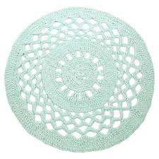 crochet circle rug round rag instructions set early dew