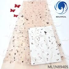 <b>BEAUTIFICAL french</b> lace fabrics 3d long wool lace fabric with ...