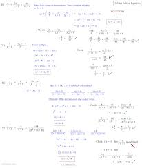 solving rational equations 3 solutions