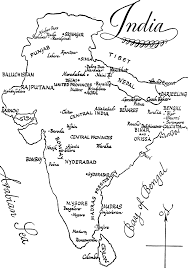 Coloring Page Map Of India Kids Drawing And Coloring Pages ...