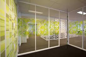 office room dividers gl elegant home design functional glass wall