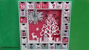 3d Paper Flower Calendar 3d Advent Calendar Craftulate