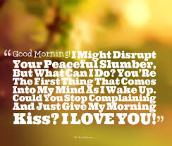 Good Morning I Love You Quotes Mesmerizing Good Morning Quotes For Your Love IYUme Love Is Mater