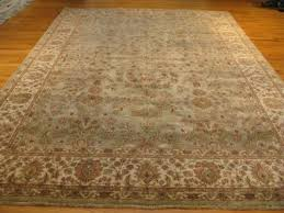 9 0 x 11 9 ivory and gold oushak old world indian rug