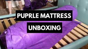 purple mattress. Unique Purple Purple Mattress Unboxing Inside