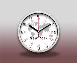 details about 12 24hr world global time zone wall clock customized location without tick tack