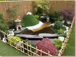 Small Picture Cool idea for a mini Japanese gardenlove the fencing