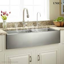 amazing 36 inch stainless steel sink 36 farm a small radius double bowl kitchen sink kar3621d