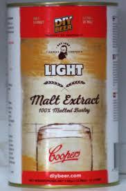 Coopers Light Liquid Malt Extract Coopers Liquid Malt Extract Light 1 5kgs