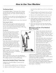 Bowflex Motivator Exercise Chart Bowflex Blaze Workouts And Manual