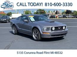Used 2007 Ford Mustang For Sale Flint Mi Stock P22245a