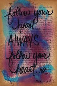 daisy s art studio always follow your heart altered books pagesaltered