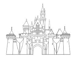 Small Picture disney templates castle printables disneyland castles Colouring