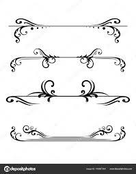 design templates for invitations elegant floral monograms borders design templates invitations menus