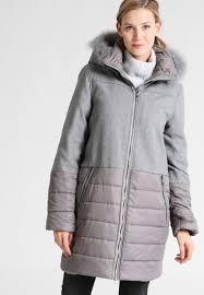 luhta paulette winter coat women clothing sports light grey