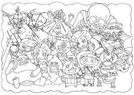 人気キャラクターの無料塗り絵 5選塗り絵で子供の能力を育てよう