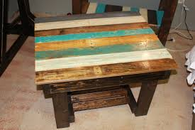 ... Coffee Tables, Cream Colored Coffee And End Tables Multi Colored Blue  White Stain Coffee Table ...