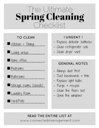 cleaning checklist the ultimate condo spring cleaning checklist connected management blog