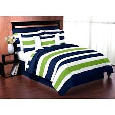 lime green and blue bedding navy and lime green on white stripe full queen 3 piece lime green and blue bedding